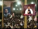الطاف حسین نے کھلے عام تقریر میں ڈی جی رینجرز میجر جنرل بلال اور ان کی اولاد کو دھمکیاں دے ڈالیں