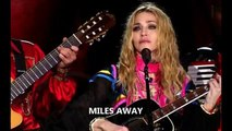 Madonna - Miles Away (Sticky & Sweet Studio)
