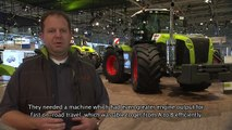 CLAAS XERION + AXION 900 - Agritechnica / 2011