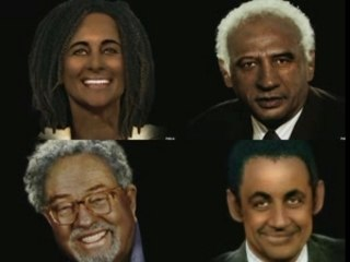 Les candidats en black