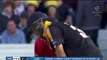 Maxwell Reverse Sweep Six 1st Ball of the Match - T20 Blast 2015 - Glenn Maxwell
