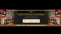 COPPER ELECTRIC LANTERNS