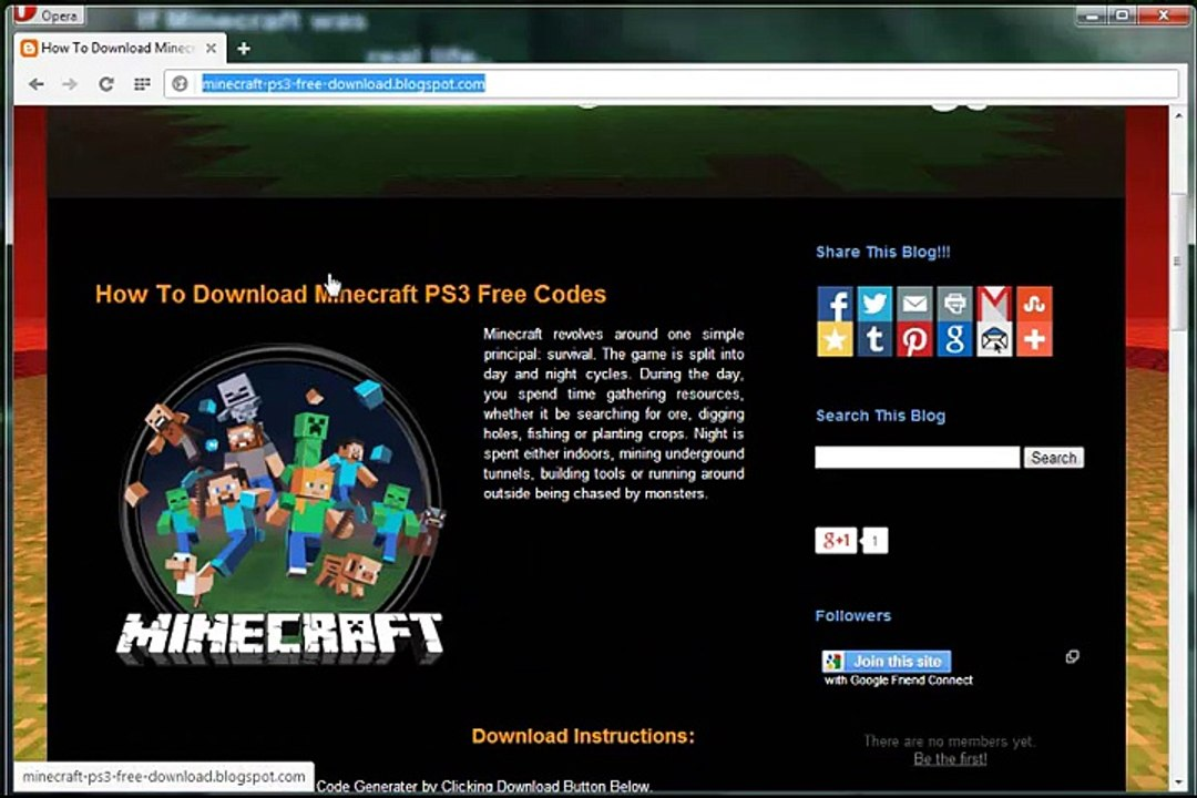 Minecraft Ps3 Free Redeem Codes Video Dailymotion