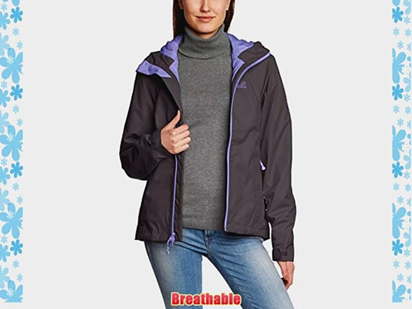Jack Jacket Grey Ladies Xs Wolfskin Morning Chilly lJ3FcTK1