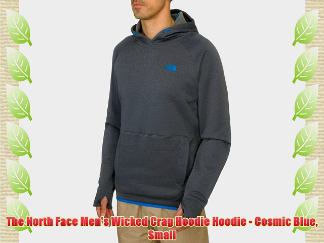 The North Face Men's Wicked Crag Hoodie Hoodie – Cosmic Blue Small