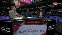 LeBron James Interview | Warriors vs Cavaliers | Dwyane Wade | Game 3 | 2015 NBA Finals