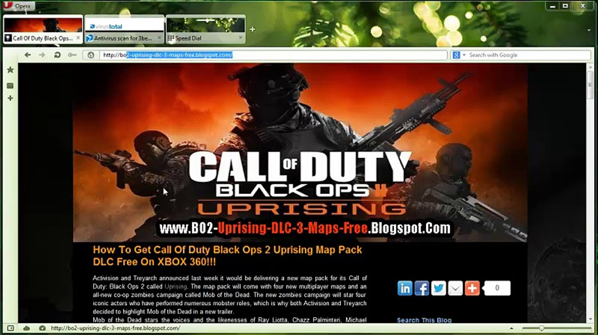 How To Unlock Install Black Ops 2 Uprising Map Pack Dlc Free