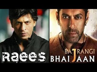 Raees Official Trailer Releases with Salman Khan's Bajrangi Bhaijaan