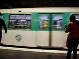 Paris Metro at Gare de l'Est on June 10, 2010 Paris, France