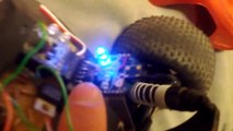 Completed arduino powered rc car using ps3 or xbox 360 controller