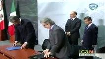 Peña Nieto se reúne con el primer ministro de Italia Enrico Letta