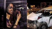 Hema Malini Severely Injured in Car Accident