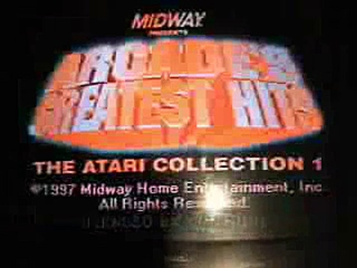 Midway Arcade's Greatest Hits  The Atari Collection 1  super nintendo SNES fun and funny