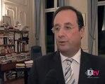 François Hollande pour le traité de Lisbonne