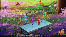 Five Little Monkeys Jumping On The Bed   Part 2 - The Robot Monkeys   ChuChu TV Kids Songs