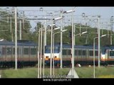 Trailer De NS in Noord Holland 2004 2005 met ACTS 1200 en Deutsche Bundesbahn V200 in Amsterdam CS