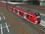 msts s Bahn in Köln