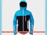 Hump Signal Mens Waterproof Cycling Jacket XX Large Atomic Blue