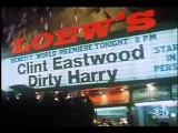 Dirty Harry premiere 1971 with Clint Eastwood in San Francisco