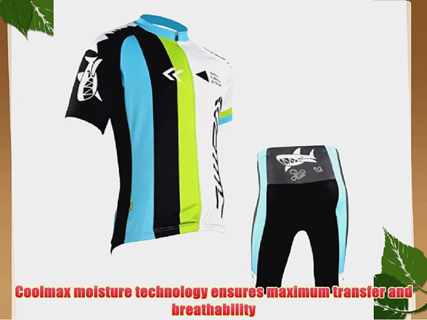 SANTIC Cycling Suits Short Jersey Short Sleeve