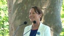 Discours de Ségolène Royal au Larzac à propos du dérèglement climatique des territoires à énergie positive, de la biodiversité et de la COP21