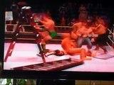 Money in the Bank Ladder Match: Ling Ling vs Daniel vs Batista vs John Cena vs Umaga vs Carlito