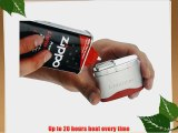 2 x S-Boston Pocket Hand Warmer(1 Red   1 Black) Patented Technology Self Ignition No Naked
