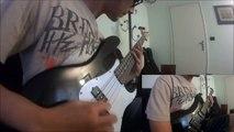 Rammstein - Rosenrot (guitar and bass cover by Ryuden)
