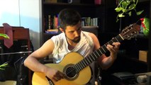 KUNG FURY: David Hasselhoff - True Survivor: Classical Fingerstyle Guitar COVER [HD]