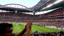 """The National Anthem Of Norway (""""Ja, Vi Elsker Dette Landet""""), Estádio da Luz, Lisbon 04-06-2011"""