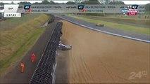 toyota 24H Le Mans 2013 Nicolas Lapierre CRASH off track