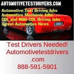 Test Driving Jobs In San Bernardino CA | Autotestdrivers.com | 888-591-5901
