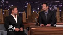 Jimmy Fallon and Russell Crowe talk in Australian accents on The Tonight Show Starring Jimmy Fallon