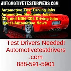 Test Driving Jobs In Santa Ana CA | Autotestdrivers.com | 888-591-5901