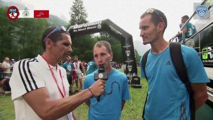 10K- Plateau 3 - Nicolas Martin & Stéphane Ricard - Chamonix Marathon du Mont-Blanc 2015