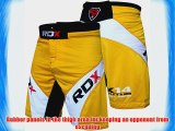 Authentic RDX Shorts UFC MMA Grappling Short Kick Boxing Mens Muay Thai Pants Gym Wear