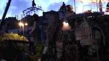 Royal de Luxe - La petite geante et l'éléphant du sultan à Nantes 2005