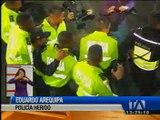 Tres policías están en el hospital tras los enfrentamientos de este jueves
