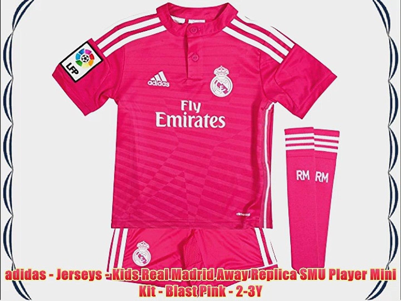 sports shoes 5a636 20378 adidas - Jerseys - Kids Real Madrid Away Replica SMU Player Mini Kit -  Blast Pink - 2-3Y