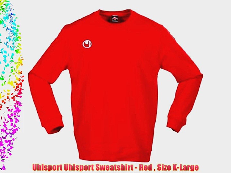 Uhlsport Red Sweatshirt
