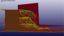 Ship wheelhouse diagonal collision analysis LS-DYNA