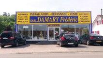 Damary Frédéric, électricité, plomberie, chauffage et isolation à La Caloterie.