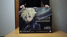 "Unboxing ""Cloud Black"" PS3 - Final Fantasy VII Advent Children Complete (FF XIII Trial Version Set)"