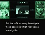 NATO,IAEA,and Nuclear Weapons NPT - Metal Gear Solid