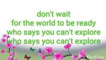 The Coronas - Grace Don't Wait! Lyrics  - video dailymotion