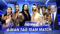 Roman Reigns, Randy Orton & Neville vs Sheamus, Kofi Kingston & Kane   SmackDown ESPAÑOL LATINO HD