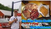 "6lb BBQ Challenge EXTRA MEATY ""Mega Moose"" Meal - Food Challenge"