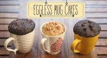 Eggless Mug Cakes   2 Minute Microwave Mug Cakes   Beat Batter Bake With Priyanka