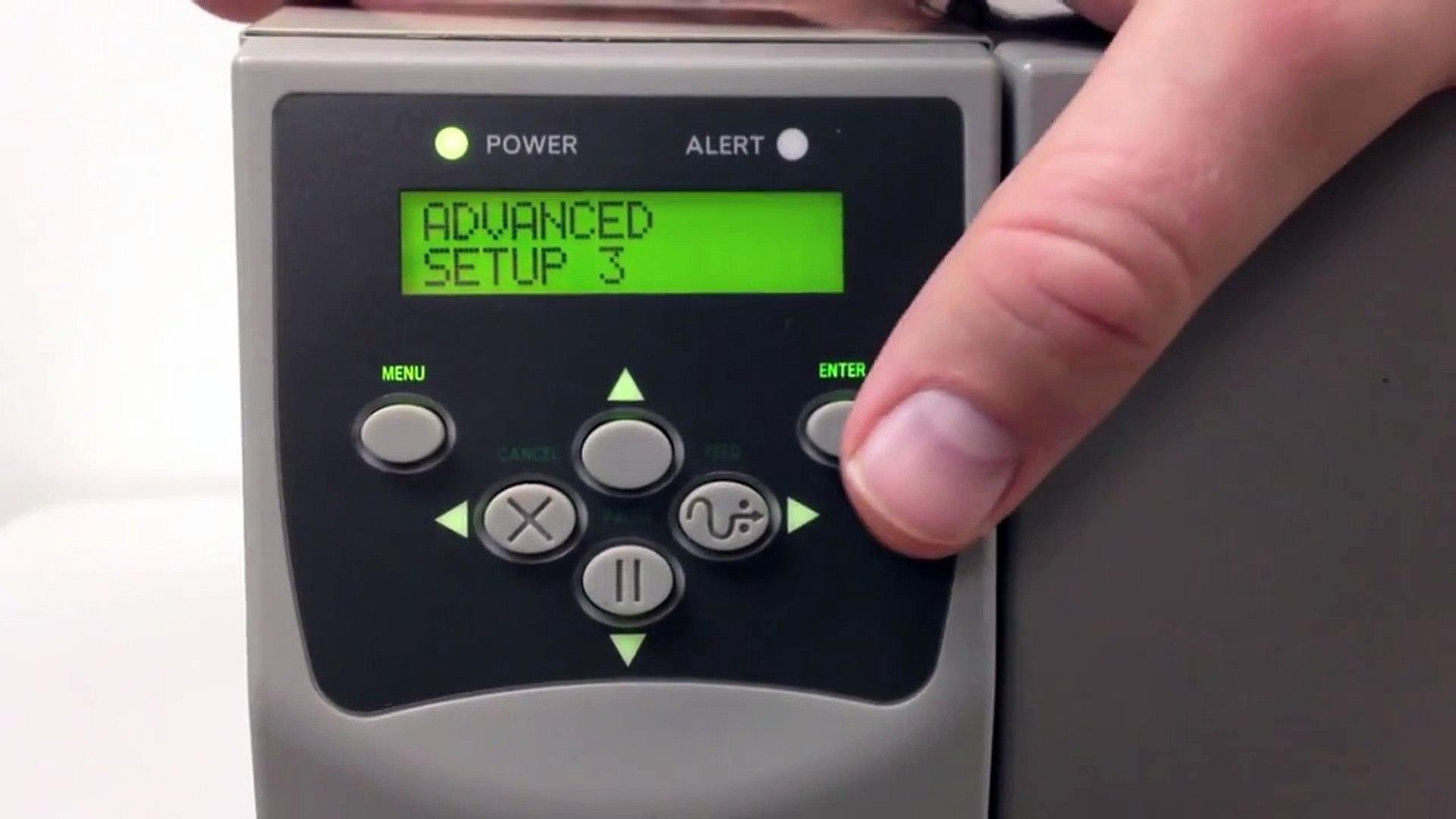 Zebra S4M Series Manual Calibration