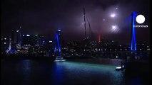 Nueva Zelanda celebra el Año Nuevo